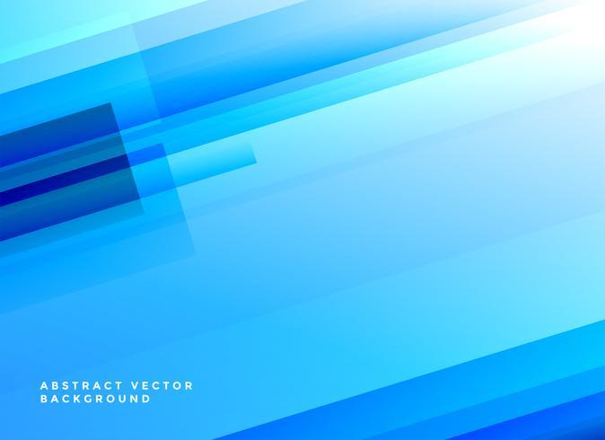 Fondo abstracto azul brillante líneas