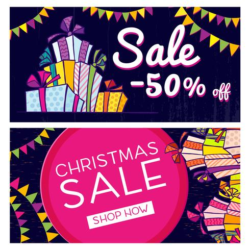 Black Friday. Banner with the sale  vector