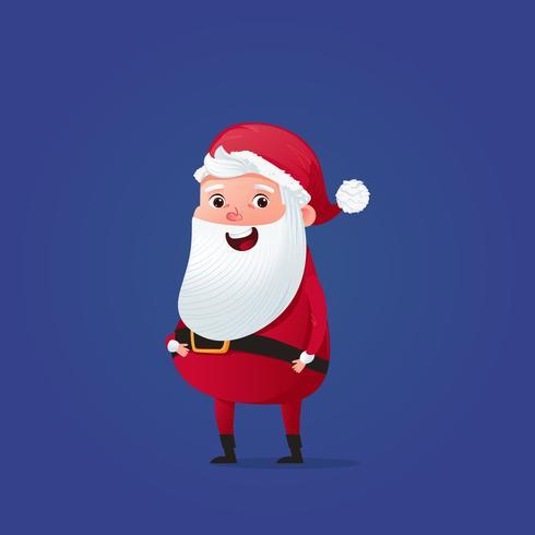 Joyeux Noël Père Noël Mignon Costume Et Chapeau De Fête Du