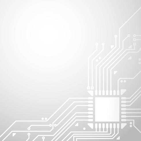 Fond de cadre de circuit imprimé