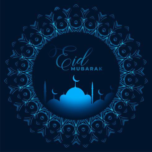 eid mubarak festival begroeting achtergrond