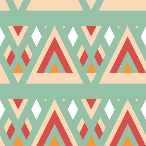 Retro diferentes patrones sin fisuras de mosaico. vector