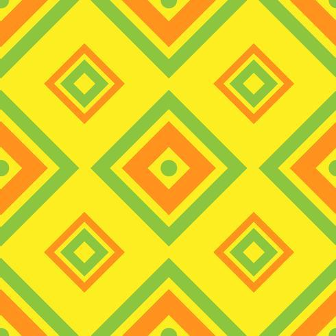 Sömlös geometrisk mönster med kvadrat