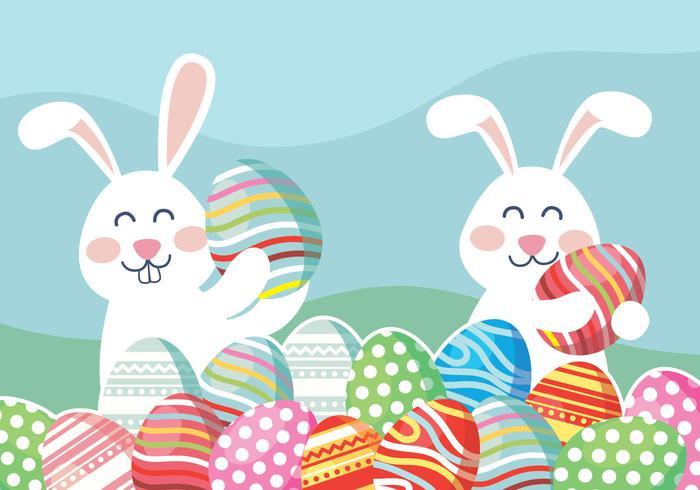 Easter Wallpaper Vector