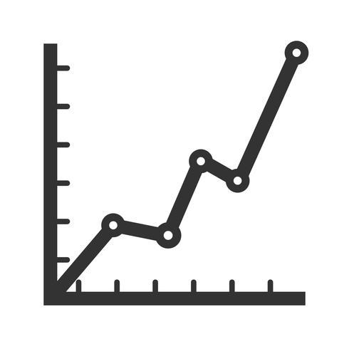 Symbol für Statistik-Glyphe