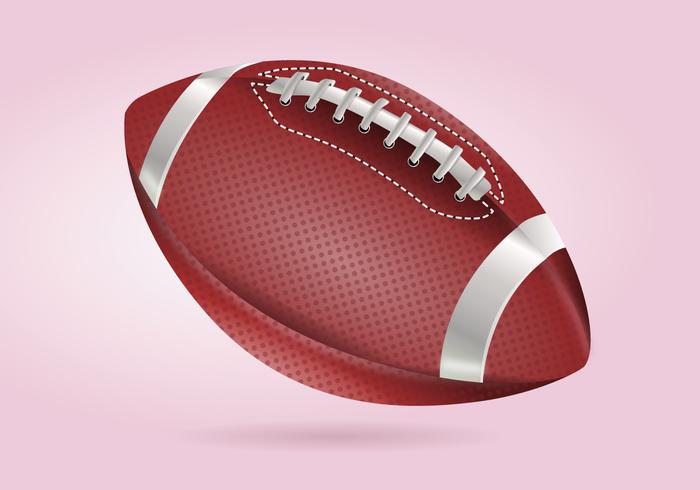 Realistico dettagliata illustrazione vettoriale di calcio