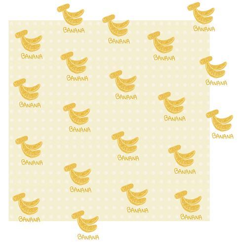 BANANA Pattern vector design illustration template
