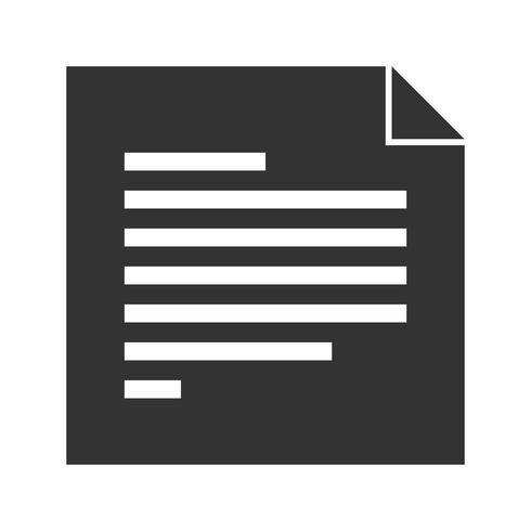 Article Glyph Icon