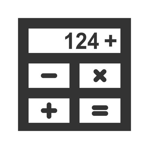 Calculation Glyph Icons