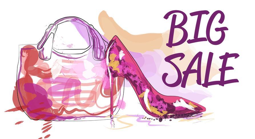 Big sale. Discount for women's accessories.