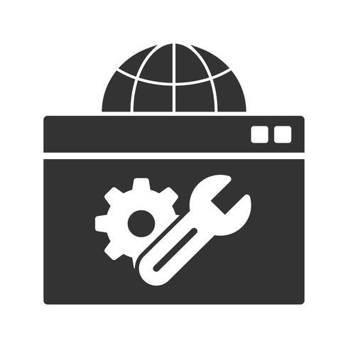 Web Optimization Glyph Icons