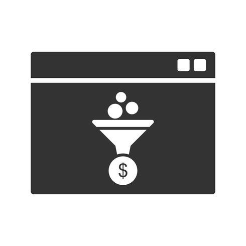 Web Conversion Glyph Icons