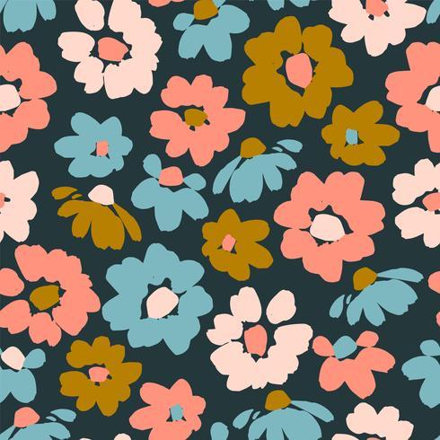 Floral pattern sans soudure.