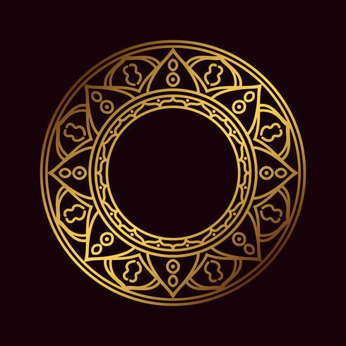 Om oder Aum indischer heiliger Klang, originales Mantra, ein Wort der Kraft. vektor