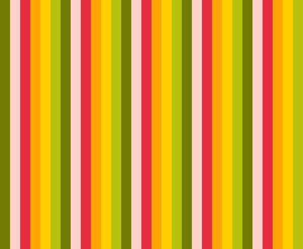 Vertical lines retro color pattern. vector