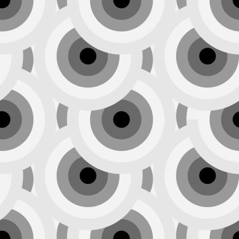 Sömlös textur med geometrisk prydnad.