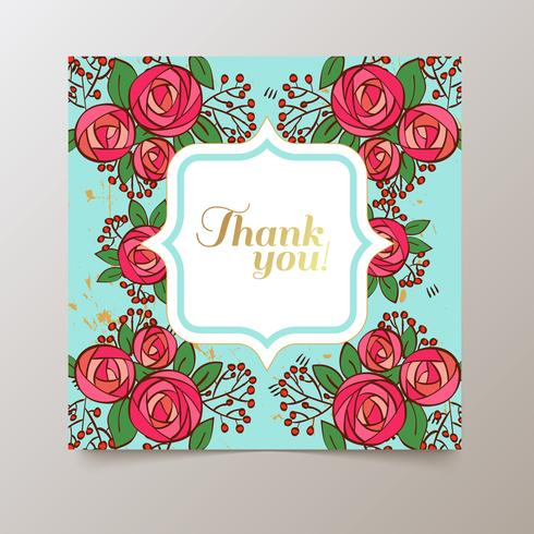 watercolor colorful  floral  with summer flowers  vector