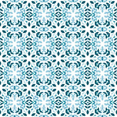 Patrón sin costuras de los copos de nieve vector