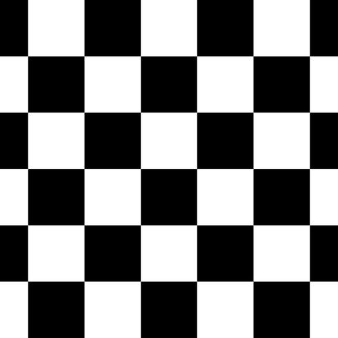 Svart och vitt rutig sömlös repeterande mönster bakgrund vektor illustration