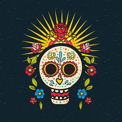 El cartel del día de los muertos,