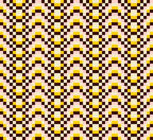 Kleurrijke etnische sierpatronen Mexicaans, Naadloos patroon