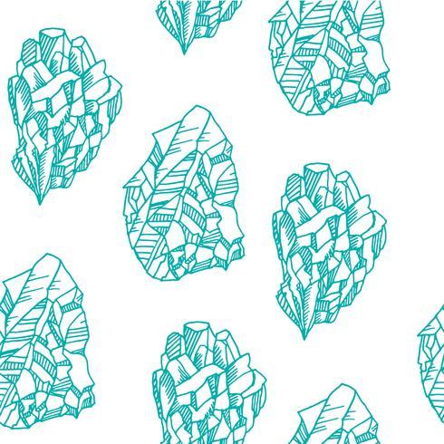 Modèle sans couture avec des cristaux