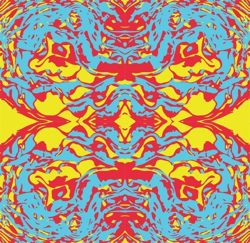 Abstrakt sömlös mönster psykedelisk bakgrund.