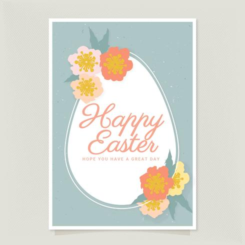 Vector Easter Card - Download Free Vector Art, Stock Graphics & Images