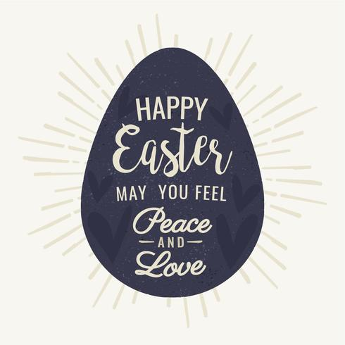 Vector Easter Egg Background