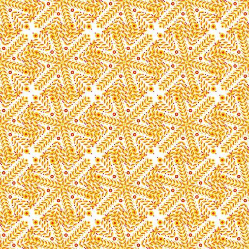 Fondo de lujo naranja art deco. vector