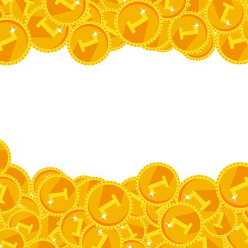 Cálido dorado festivo brillante dinero