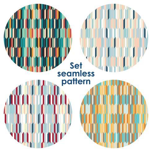 Oriental seigaiha seamless pattern.  Vintage background vector