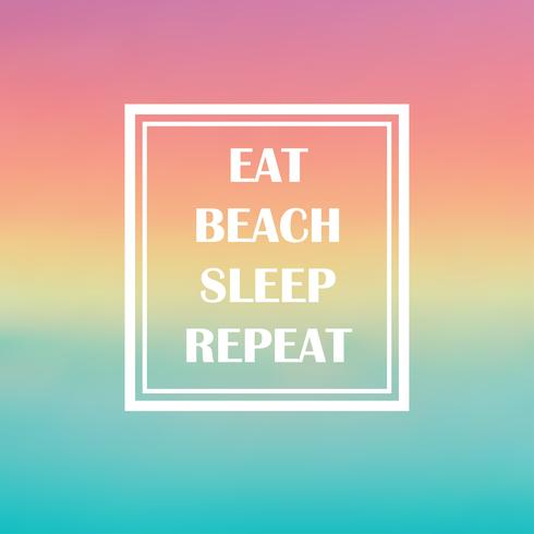 cita playa de verano