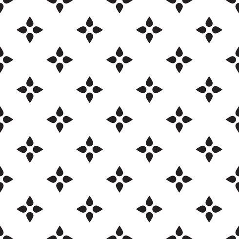 Patrón de triángulo geométrico inconsútil Retro abstracto