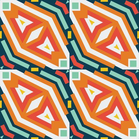 Seamless vector geometric rhombus