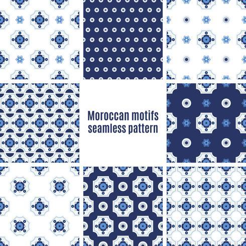 Portuguese Azulejos set of patterns