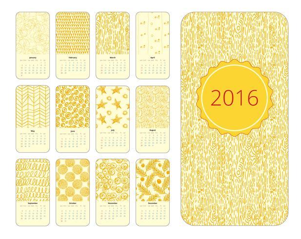 Calendar 12 months