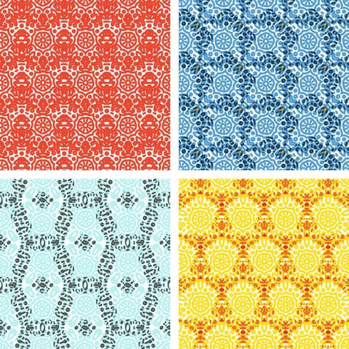 Set of knitting patterns