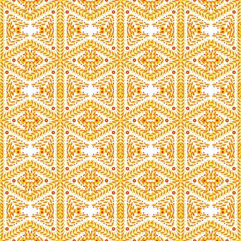 Fond de luxe orange art déco.