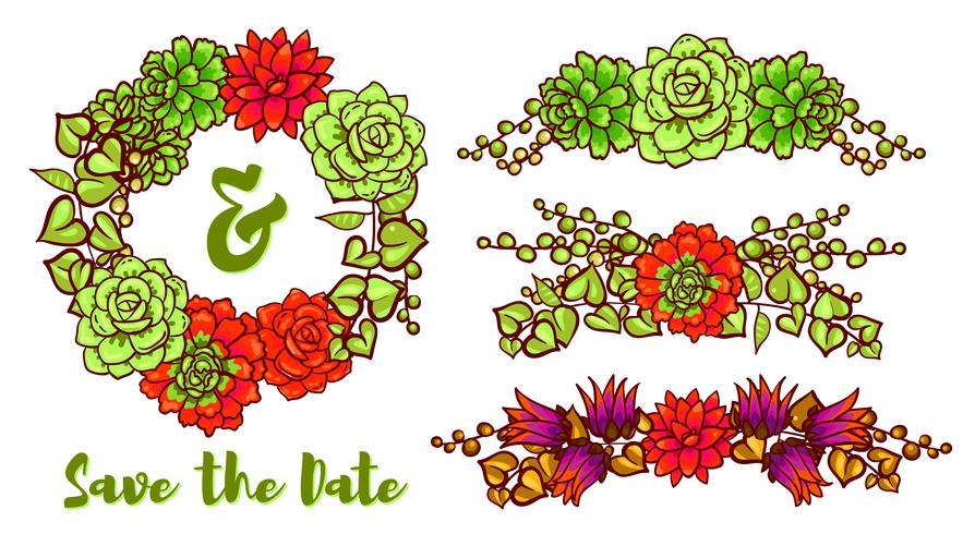 Couronne succulente