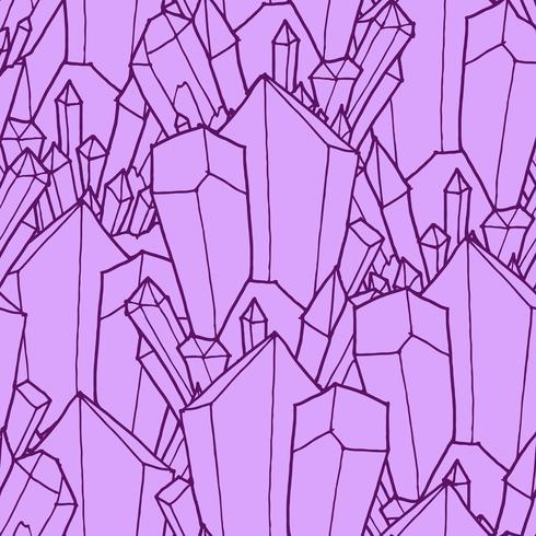Padrão sem emenda com cristais