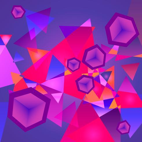 Abstracte geometrische achtergrond