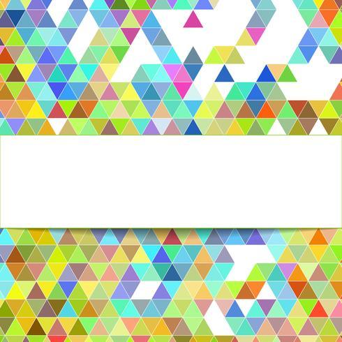 sfondo geometrico di design