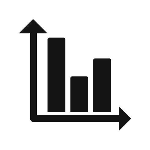 Icono de Vector de gráfico de barras