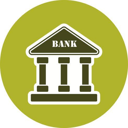 bank vektor ikon