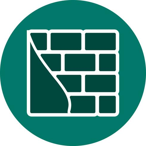 Brick wall Vector Icon - Download Free Vector Art, Stock Graphics & Images