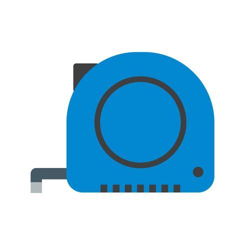 Fita de medição Vector Icon