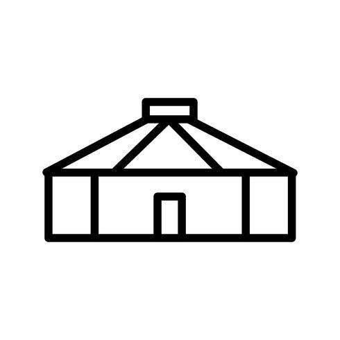 Yurta Vector Icon