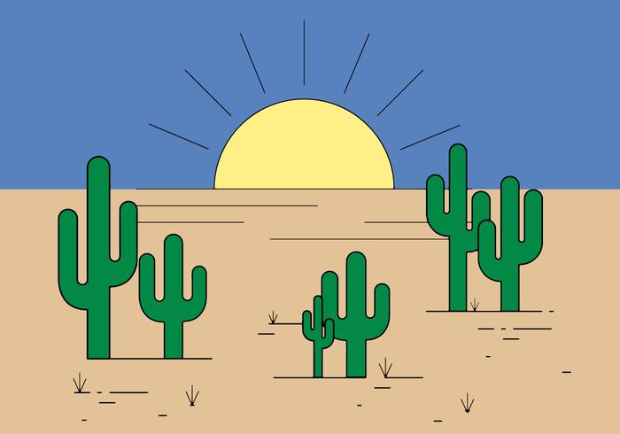 Vettore gratuito di cactus