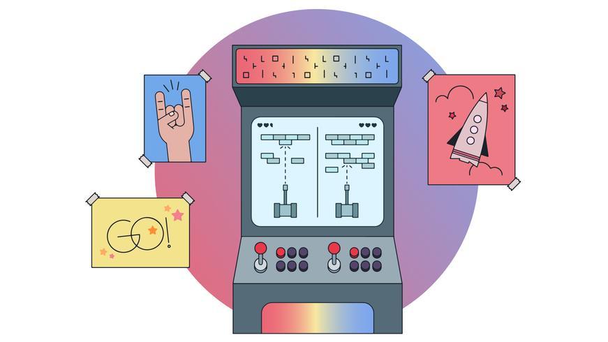 arcade vector